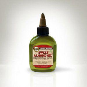 Huile D'arbre A The' Almond Hair Oil  2.5 oz